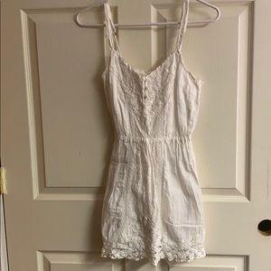 White Abercrombie dress